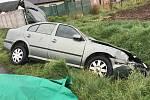 U Tovéře se stala nehoda při níž se srazilo osobní auto s koněm