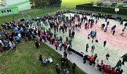 Vítání jara v Troubelicích - rekord v klapání a hrkání