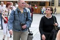 Turisté v Olomouci
