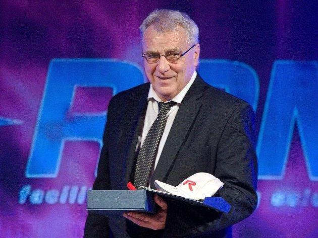 Petr Uličný při předávání mimořádného ocenění pro osobnost olomouckého sportu