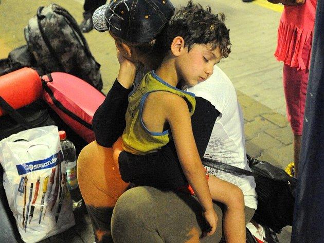 Uprchlíci. Ilustrační foto