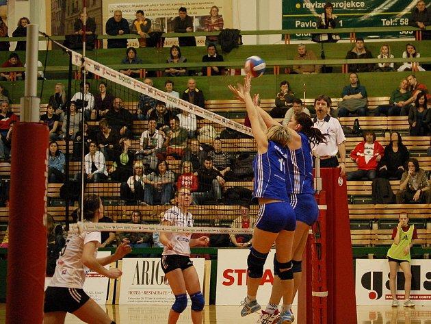Olomoučanky v modrém potřetí porazily Liberec.