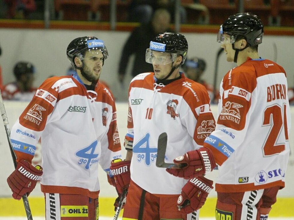(zleva) Jakub Herman, Miroslav Holec, Vilém Burian