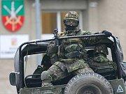 Příprava na misi v afghánském Lógaru v Přáslavicích