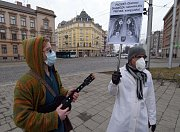 Happening za větší ochranu Olomoučanů přčed smogem