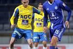 Sigma porazila Teplice 1:0. Aleksandar Šušnjar a Tomáš Chorý.