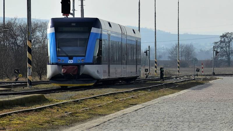 Jízda jednotky Stadler na trati Olomouc-Drahanovice