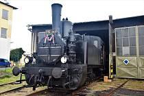Historické vlaky v olomouckém železničním muzeu se připojily k oslavám 100 let republiky