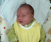 Mikuláš Janča, Medlov, narozen 5. září ve Šternberku, míra 47 cm, váha 3310 g