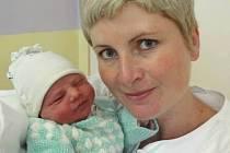 Tobiáš Labaj, Hněvotín, narozen 12. září v Olomouci, míra 50 cm, váha 3760 g