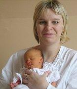 Karolína Hošková, Olomouc, narozena 13. října v Olomouci, míra 49 cm, váha 2900 g