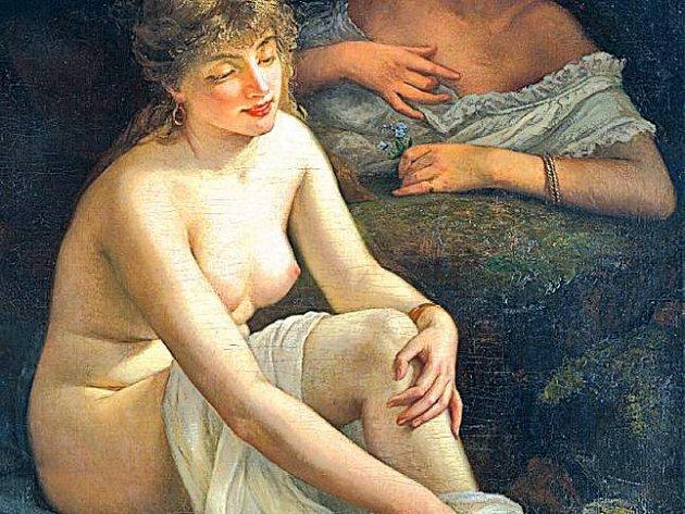 Obraz z olomouckého Muzea umění, jehož autorem by mohl být Gustav Courbet