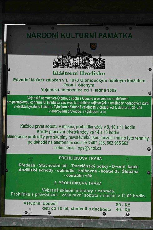 Klášterní Hradisko - olomoucký skvost.