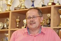 Místopředseda klubu Tatran Litovel a sportovní manažer Karel Zmund.