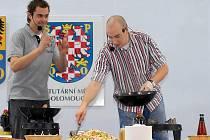 Kluci v akci, tedy Ondřej Slanina (vpravo) a Filip Sajler.