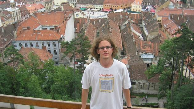 Vojtěch Mrňka v Brašově.