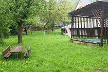 Zahrady školky Hvězdné Údolí ve Šternberku