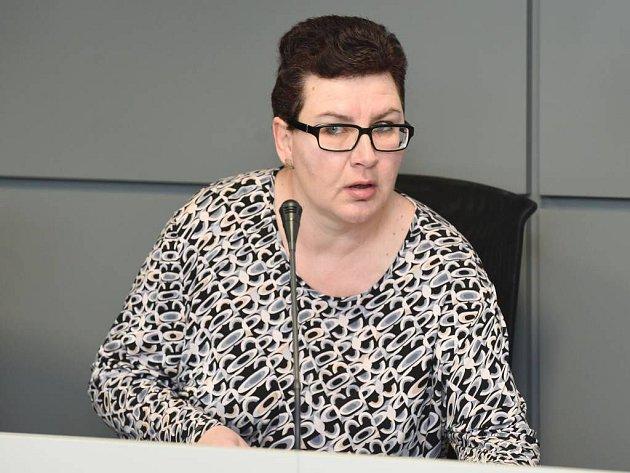 Bývalá mzdová účetní Renata Nováková u Krajského soudu v Olomouci