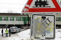 Muže srazil na Nových Sadech vlak.