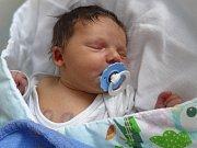 Adam Kment, Slatinice, narozen 6. ledna, míra 52 cm, váha 4090 g