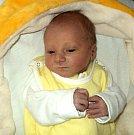 Matyáš Talášek, Uničov, narozen 19. března, míra 47 cm, váha 2850 g