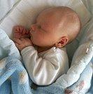 Vít Hanzl, Slatinice-Lípy narozen 22. února míra 52 cm, váha 3700 g