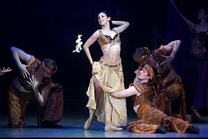 Balet Othello na scéně Moravského divadla Olomouc