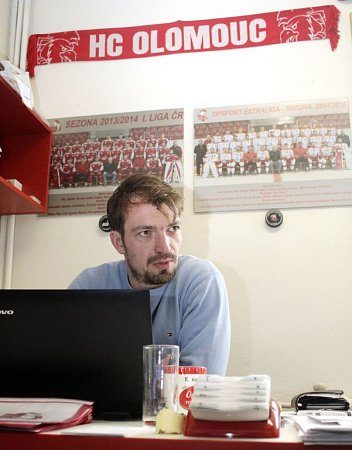 Loučící se marketingový manažer HC Olomouc Mario Cartelli