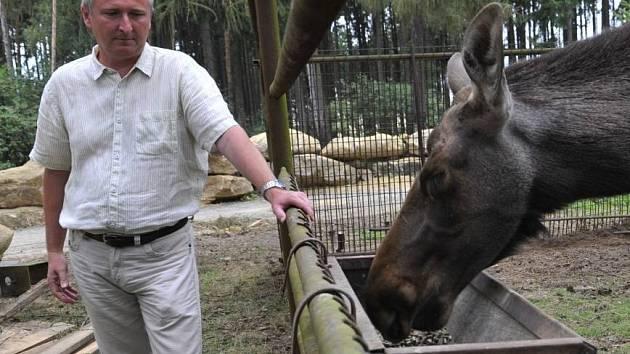 Ředitel olomoucké zoo Radomír Habáň