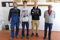 Nejlepší mladí instalatéři jsou ze Střední školy stavební a podnikatelské z Olomouce-Chomoutova