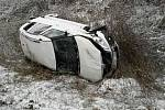 Nehoda v Černovíře. Pátek 16. února 2018