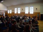 Čeští a němečtí školáci se seznámili s Deníkem i prací novinářů.