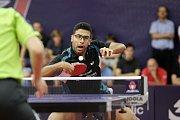 V Olomouci začala hlavní soutěž prestižního mezinárodního podniku Czech Open ve stolním tenise. Omar Assar, Egypt