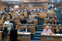 Zasedání olomouckého zastupitelstva. Ilustrační foto