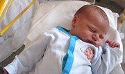 Jan Richter, Velká Bystřice, narozen 13. dubna v Olomouci, míra 54 cm, váha 4180 g