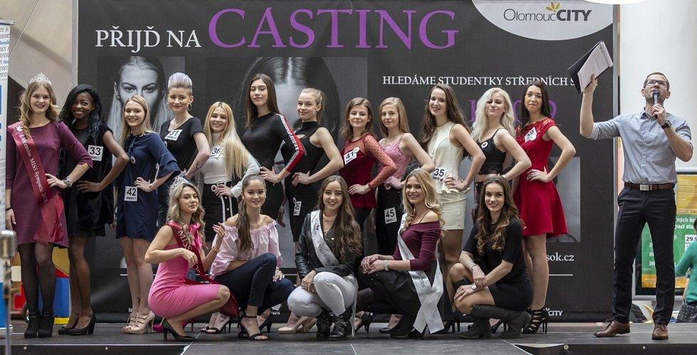 Casting na olomoucké semifinále Miss OK 2019