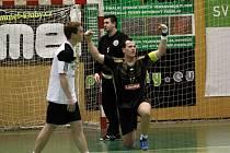 STM Olomouc proti Strakonicím - Martin Mošovský rozhodl zápas proměněnou sedmičkou
