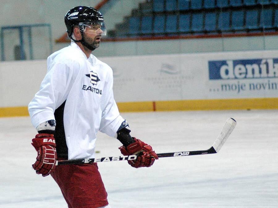 Jiří Dopita na tréninku