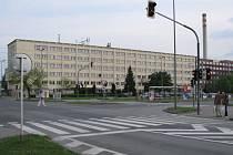 Budova na třídě Kosmonautů v Olomouci - sem se bude stěhovat krajské ředitelství policie.