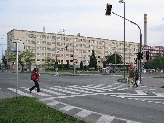 Budova policejního ředitelství na třídě Kosmonautů