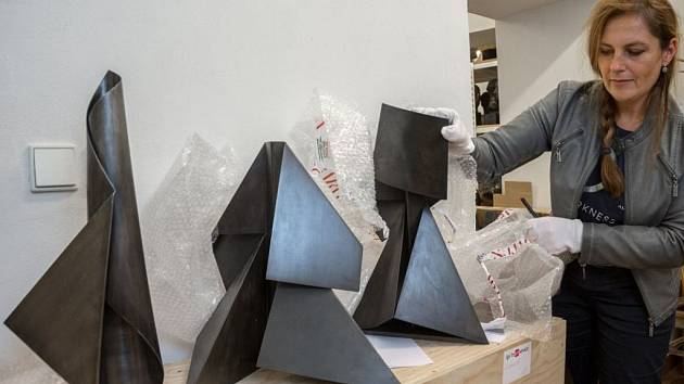 Muzeum umění Olomouc získalo sedm desítek děl Terry Haass