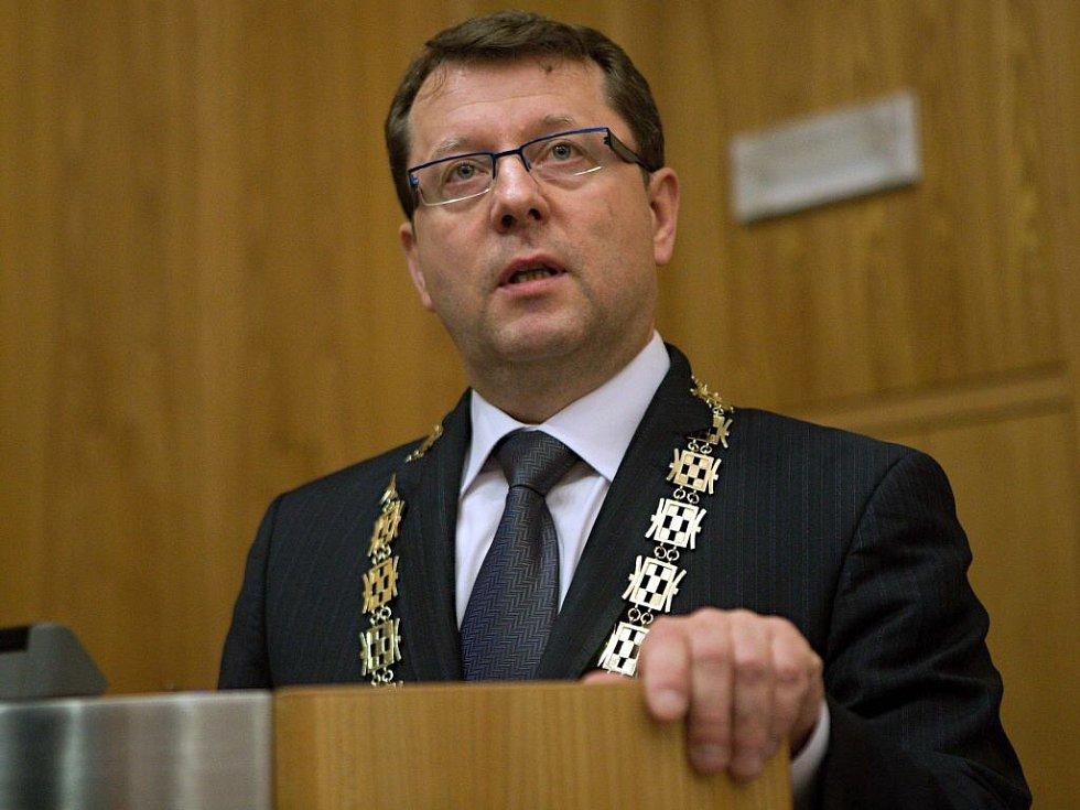 Nový olomoucký primátor Antonín Staněk z ČSSD