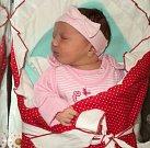 Malvína Ježková, Hrabenov, narozena 5. února ve Šternberku, míra 50 cm, váha 3960 g