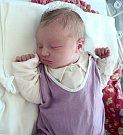 Helena Johanová, Králová, narozena 27. prosince ve Šternberku, míra 49 cm, váha 3150 g