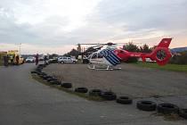 Nehoda kamionu u Mohelnice