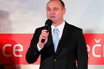 Ivan Langer, předseda správní rady NBO. Galavečer Nadace Bezpečná Olomouc