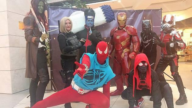 Univerzální superhrdinové na Cosplay festivalu v Šantovce