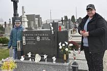 Hřbitov v Senici na Hané, 27. 10. 2019