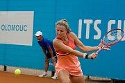 Karolína Muchová v zápase 1. kola ITS CUPu.