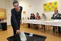 Volby ve škole ve Velké Bystřici